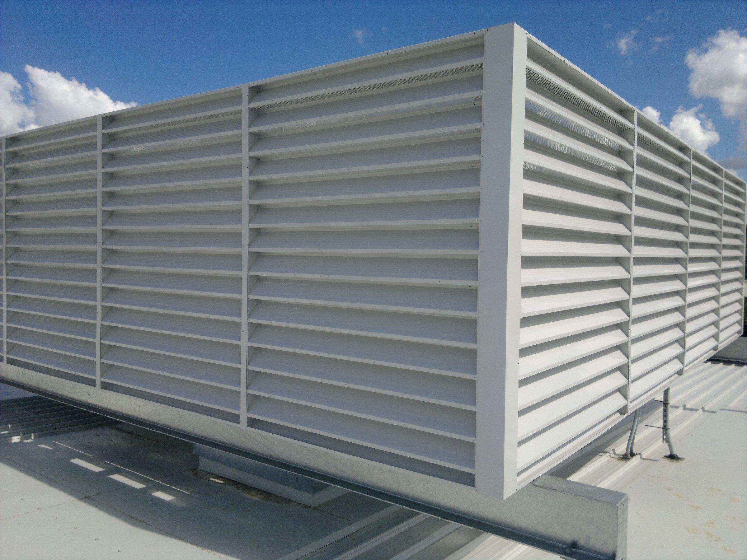Roof Screen Wall : Koolbreeze craig s engineering